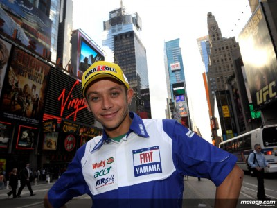 Rossi loves New York after first visit to `The Big Apple´