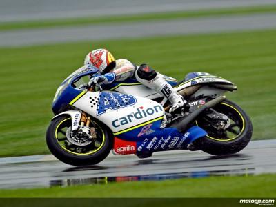 Abraham dá-se melhor com a chuva nas 250cc