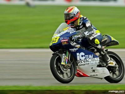 Iannone lidera el Warmup de 125cc en el IMS