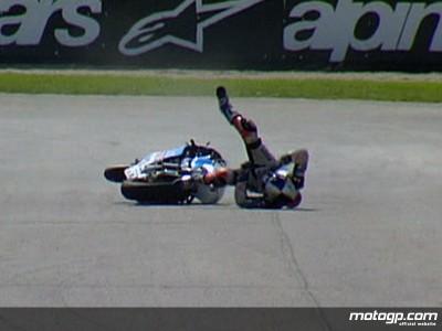 E.ラヴァティ、骨折で決勝レース欠場