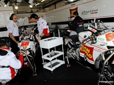De Angelis salva il team Gresini con la top ten