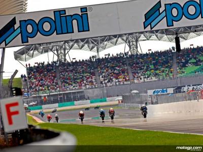 Polini Motori sponsorise le MotoGP en Malaisie