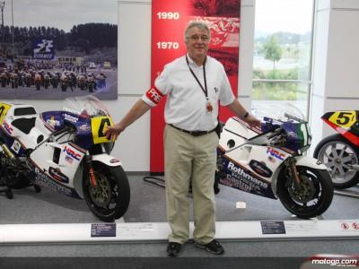 Harris erinnert sich an die erfolgreichen Zeiten der NSR500  Honda