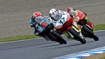 Bradl takes 125cc glory in Japan