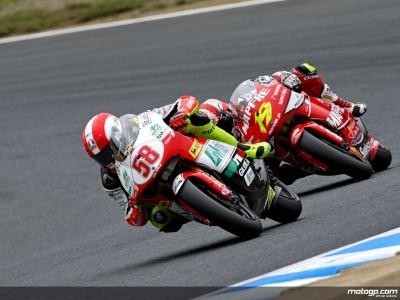 Simoncelli gewinnt das 250er-Rennen in Motegi