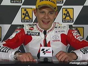 125cc podium views from Japan