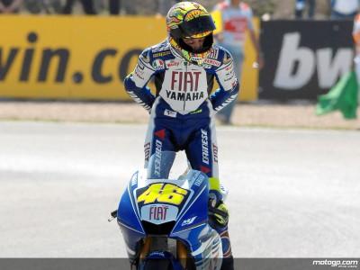O caminho de Rossi rumo ao Campeonato do Mundo de MotoGP de 2008