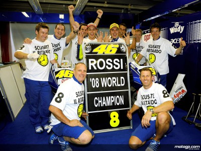Yamaha chiefs comment on 2008 Rossi success story
