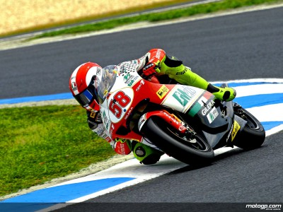 Simoncelli closes 250cc practice on top