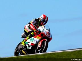 Simoncelli signe le record de la pole 250cc à Phillip Island