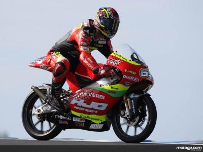 Di Meglio enjoys 125cc warm-up run