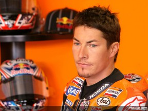 Hayden enjoys racing for podium