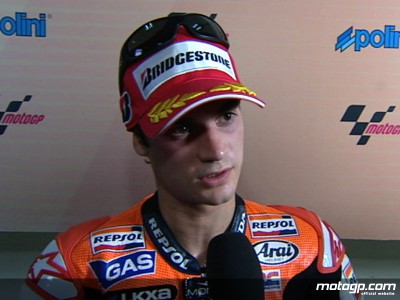 Historic first Bridgestone pole creates confidence in Pedrosa