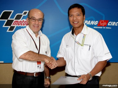 Sepang extends MotoGP contract until 2010