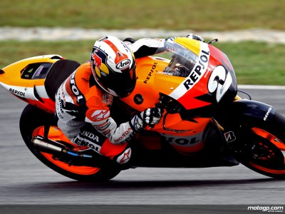 Pedrosa continues to shine in Sepang warmup
