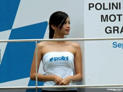Malaysian MotoGP paddock girls