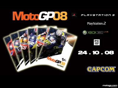 MotoGP 08 vai começar a ser vendido