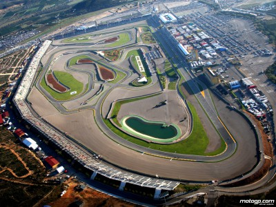 MotoGP arrives at chilly Valencia for season finale