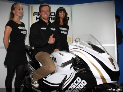 Gibernau makes return official in Valencia presentation