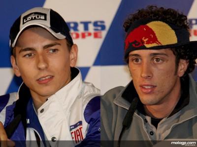 Lorenzo et Dovizioso analysent leur saison 2008