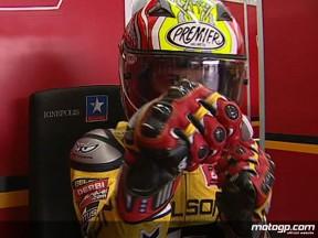 Corsi anota la pole provisional en Valencia
