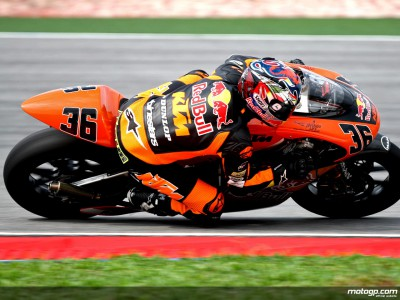 Kallio heads Saturday 250cc practice in Valencia