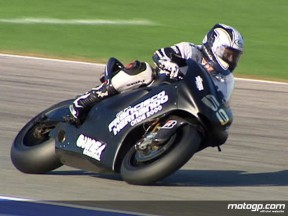 Gibernau gets resettled into MotoGP action in comeback test