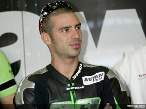 Melandri relieved after improving feeling with new team