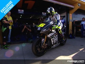 Rossi makes good start with 2009 M1