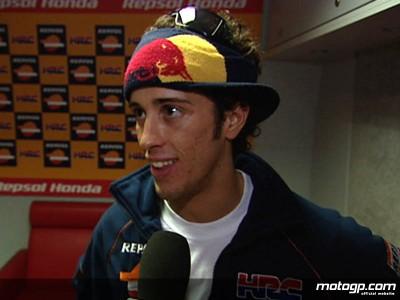 Dovizioso revient sur sa première journée chez Repsol Honda
