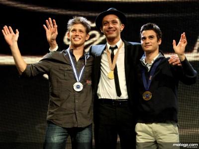 Todos los ganadores de los trofeos FIM 2008 en MotoGP