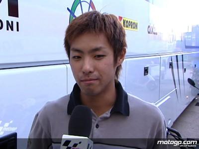 高橋裕紀、MotoGPマシン初ライド