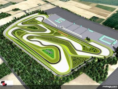 First stone of Balatonring Circuit put in place