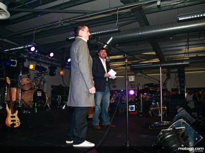 Toseland retrouve ses fans à Donington Park