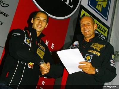 Pesek renews contract to stay in 250cc
