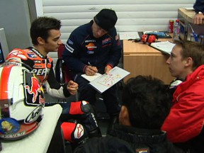 Pedrosa picks up the pace for top time at Jerez test