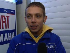 Rossi prueba las Yamaha M1 2008 y 2009 en Jerez