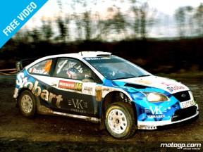 Rossi termine douzième du Rallye de Grande-Bretagne