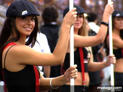 Girls on film : Les Paddock Girls MotoGP de 2008