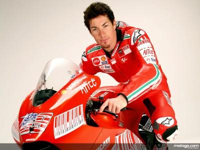 Haydens U.S. Ducati hilft gutem Zweck