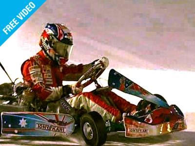 Stoner brilla en el duelo Ducati –Ferrari sobre hielo