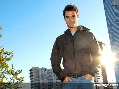 Pedrosa bei der Bread and Butter Show in Barcelona