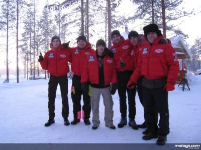 M.カリオ、チームスタッフたちをフィンランドに招待