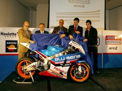 ブルセンス・BQR、Moto2プロトタイプ第1号車を発表