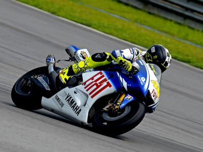Light-hearted Rossi enjoys day two at Sepang