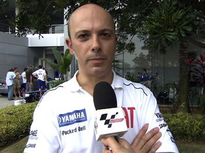 Romagnoli basing Yamaha M1 potential on Rossi & Edwards' Sepang times