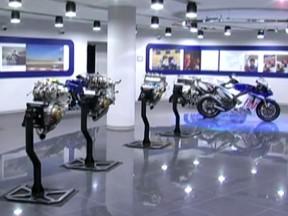Una vuelta virtual por la sede italiana de Yamaha Racing