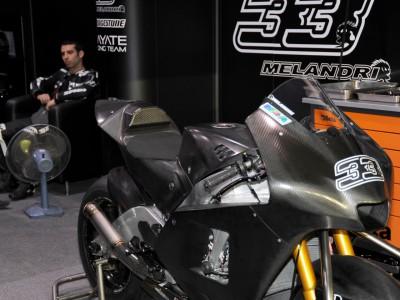 Melandri makes 2009 test debut with Hayate Racing