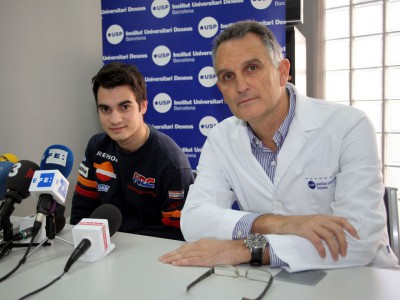 Pedrosa targets Qatar return after hospital discharge
