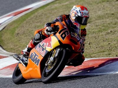 Beaubier prepara su debut mundialista con KTM
